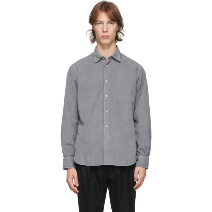 Photo: Officine Generale Grey Corduroy Benoit Shirt
