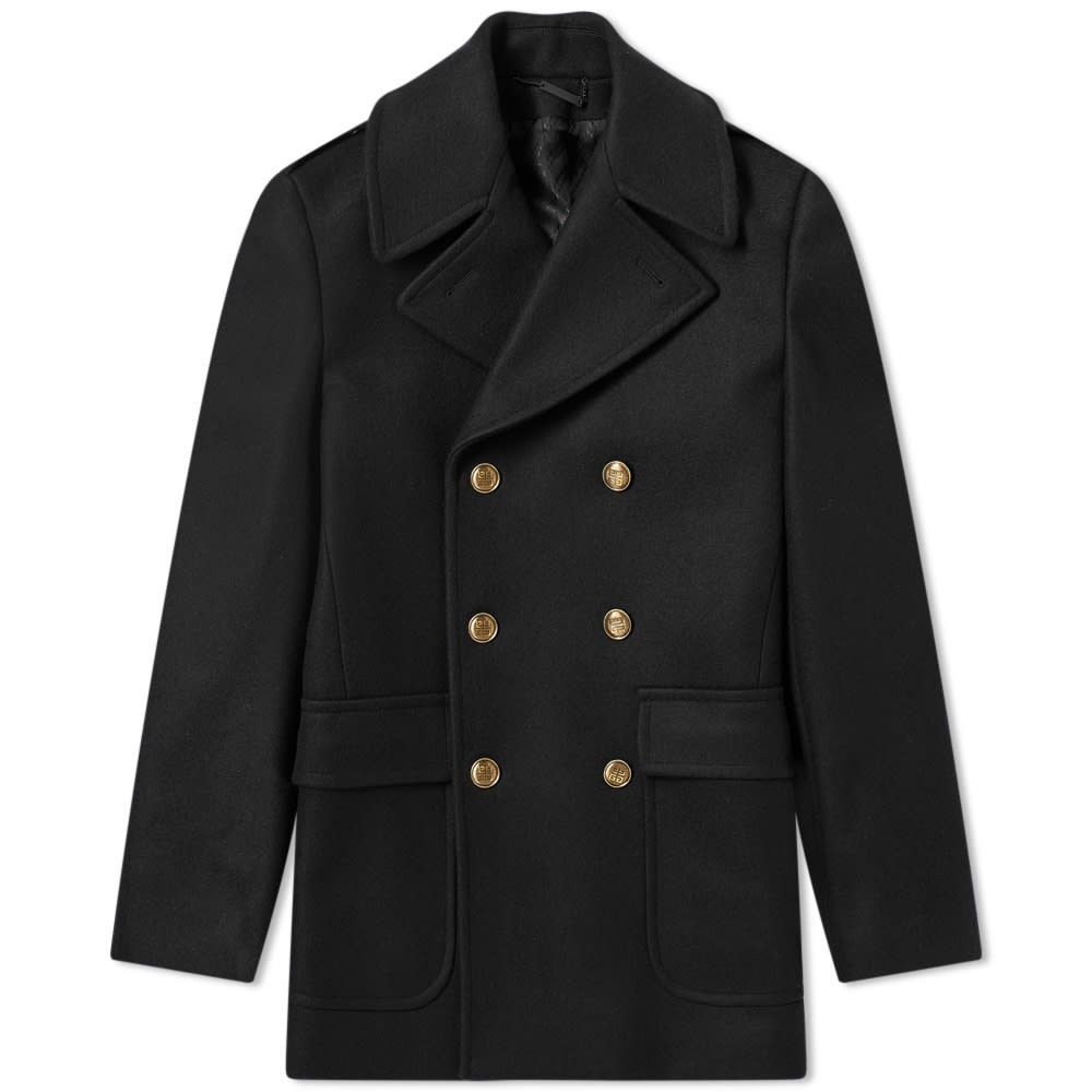 Photo: Givenchy Classic Wool Pea Coat