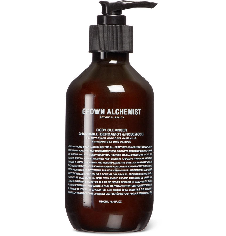 Photo: Grown Alchemist - Chamomile, Bergamot & Rosewood Body Cleanser, 300ml - Colorless