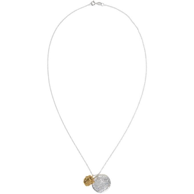 Alighieri Silver and Gold La Collisione Necklace