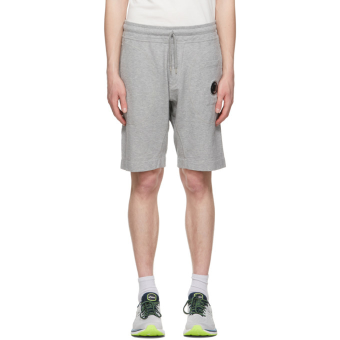 Photo: C.P. Company Grey Garment-Dyed Shorts