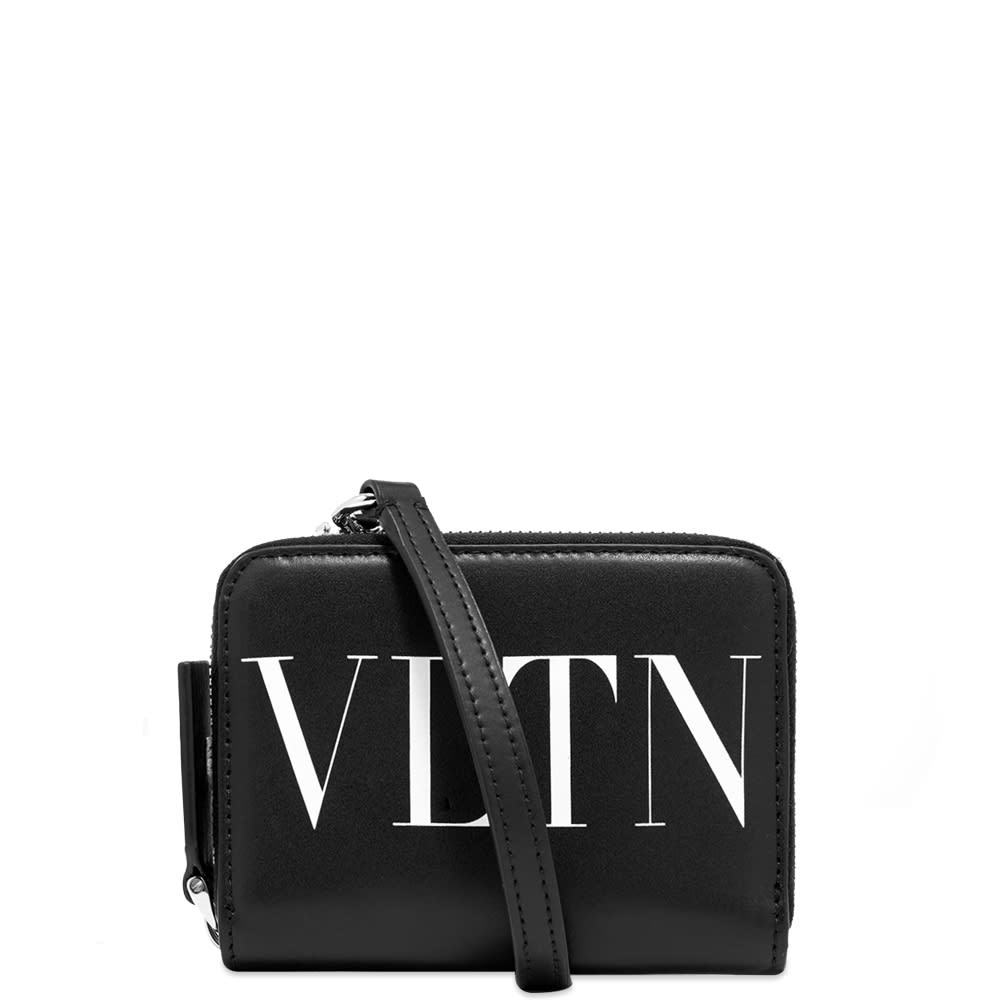 Photo: Valentino VLTN Leather Neck Wallet Pouch