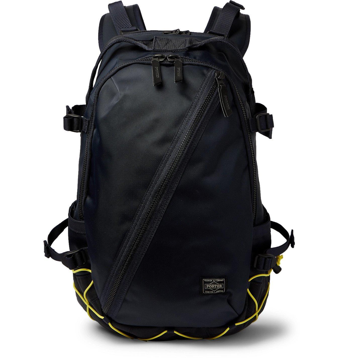 Photo: Porter-Yoshida & Co - Daypack Padded Nylon Backpack - Blue