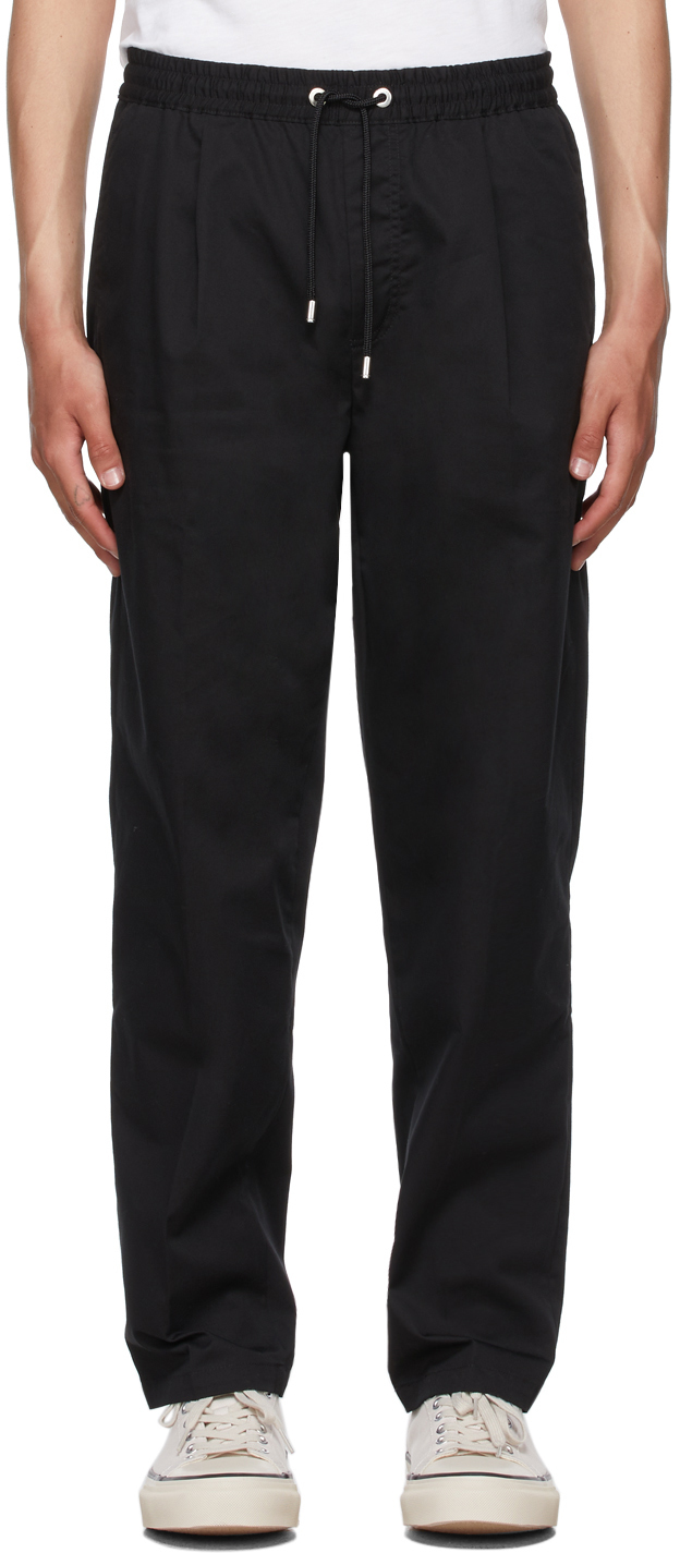 Photo: Frame Black Relaxed Trousers