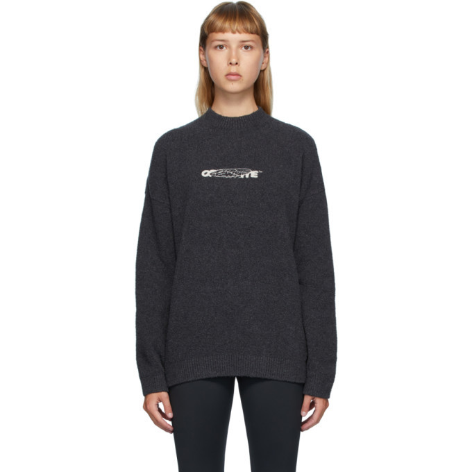 Photo: Off-White Black Barrel Worker Sweater
