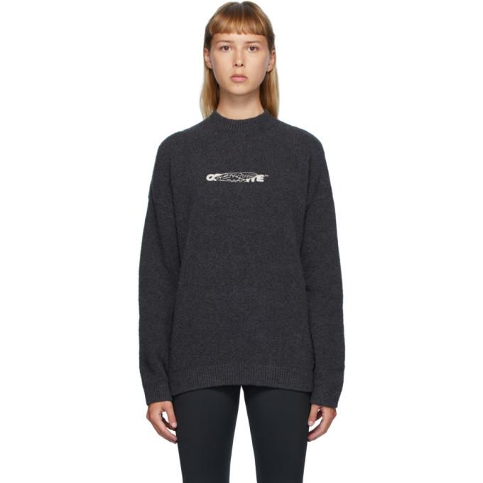 Photo: Off-White Black Barrel Worker Sweater