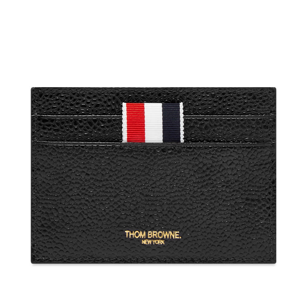 Photo: Thom Browne Double Sided Grosgrain Card Holder