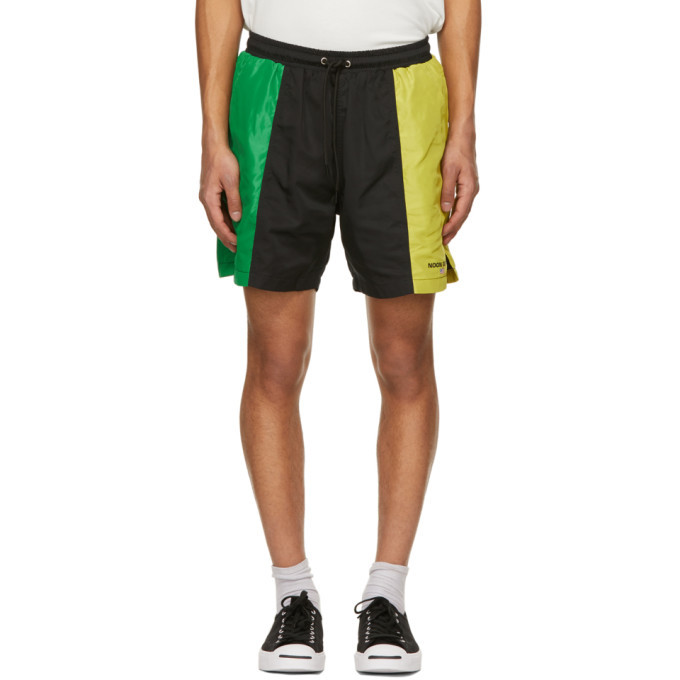 Photo: Noon Goons Green and Yellow Foamers Shorts