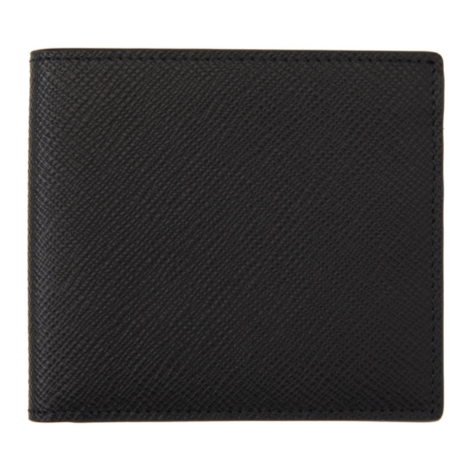 Photo: Smythson Black Panama Bifold Wallet