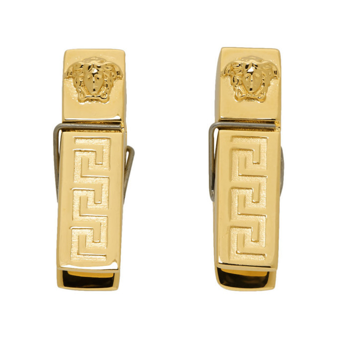 Photo: Versace Gold Medusa Earrings