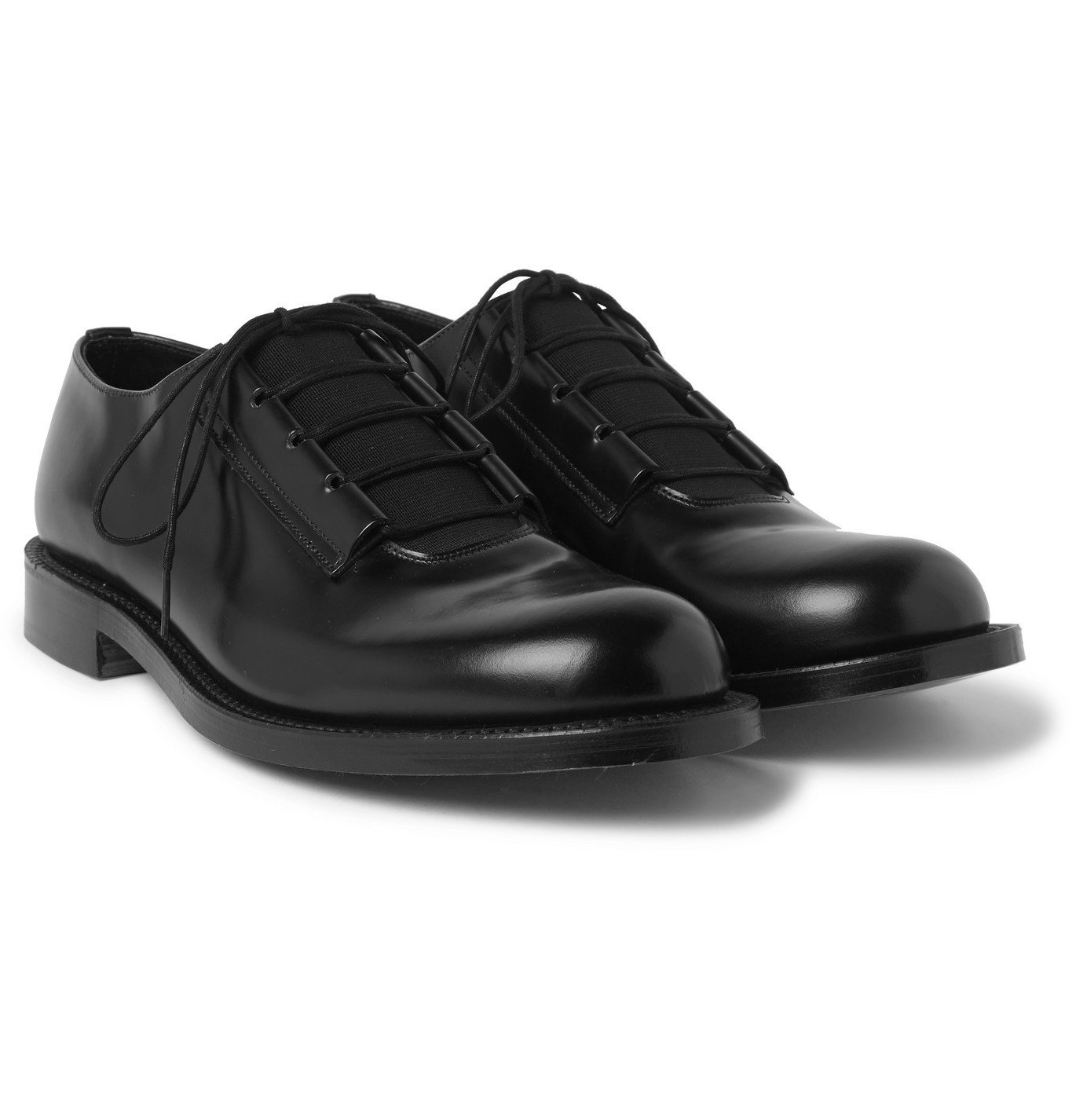 Photo: Grenson - Craig Green Leather Derby Shoes - Black