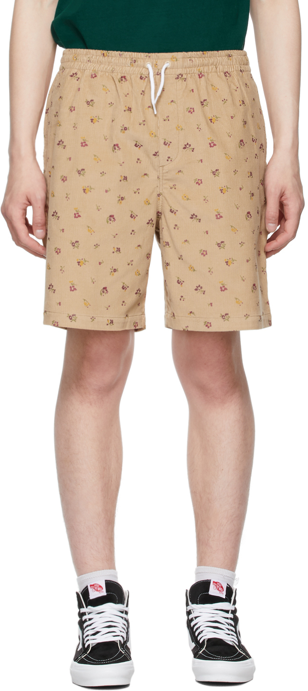 Photo: Noah Beige Corduroy Drawstring Short