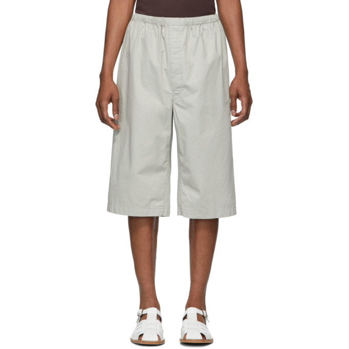 Photo: Lemaire Grey Sunspel Edition Twill Shorts