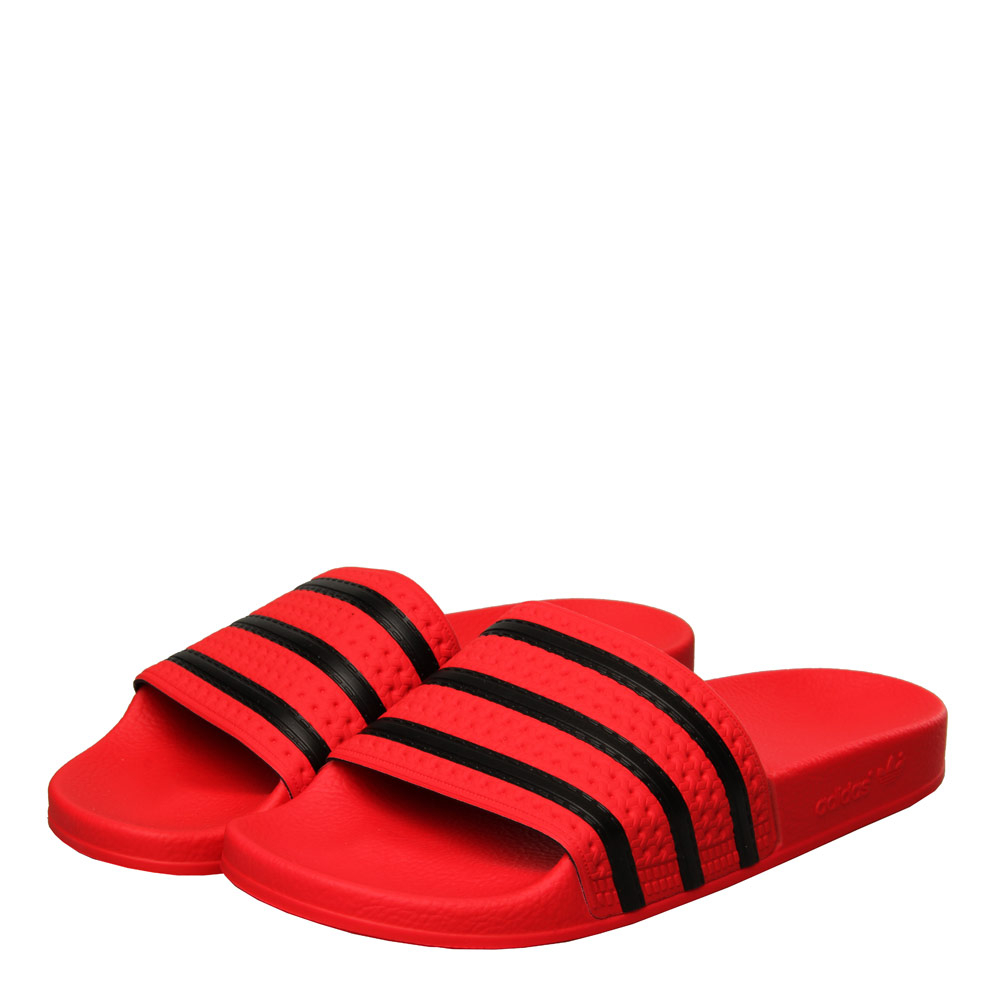 Photo: Adilette Slide - Red