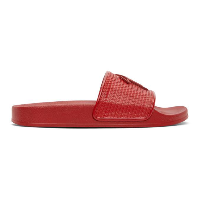 Photo: Giuseppe Zanotti Red Brett Sandals