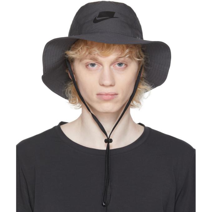 Photo: Nike Grey Sportswear Bucket Hat