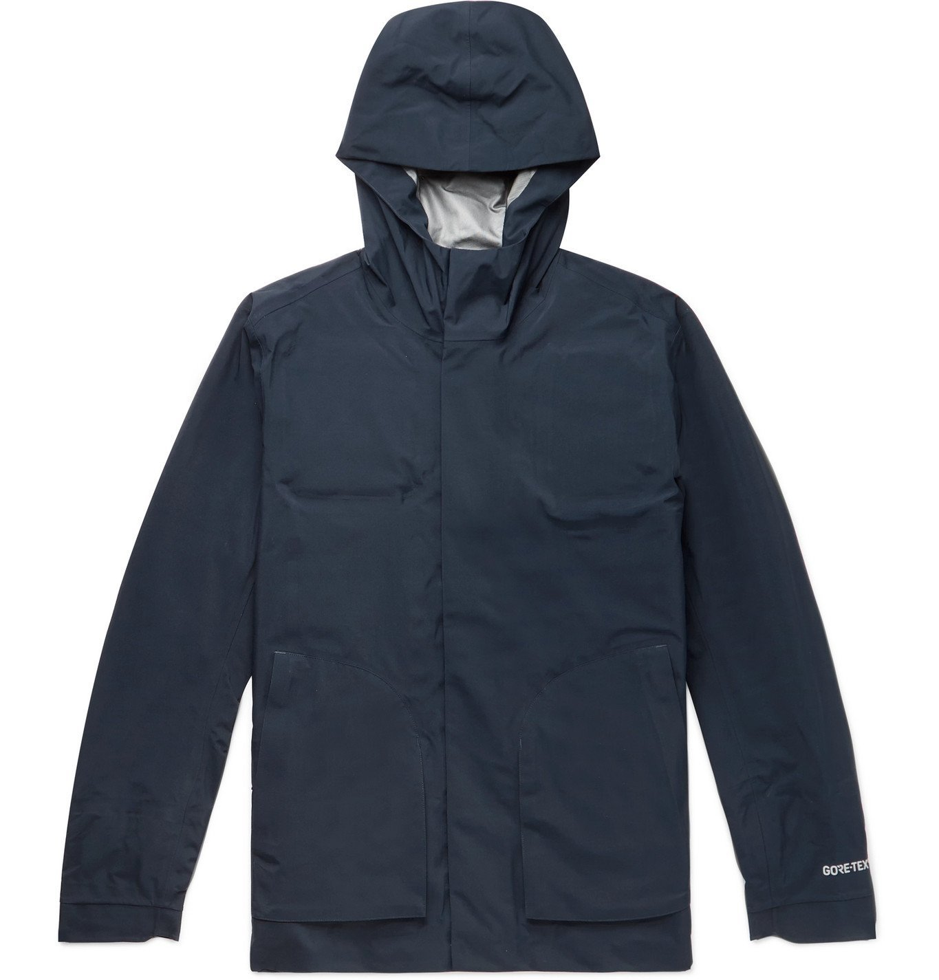 Photo: NN07 - Wyatt GORE-TEX Hooded Down Jacket - Blue