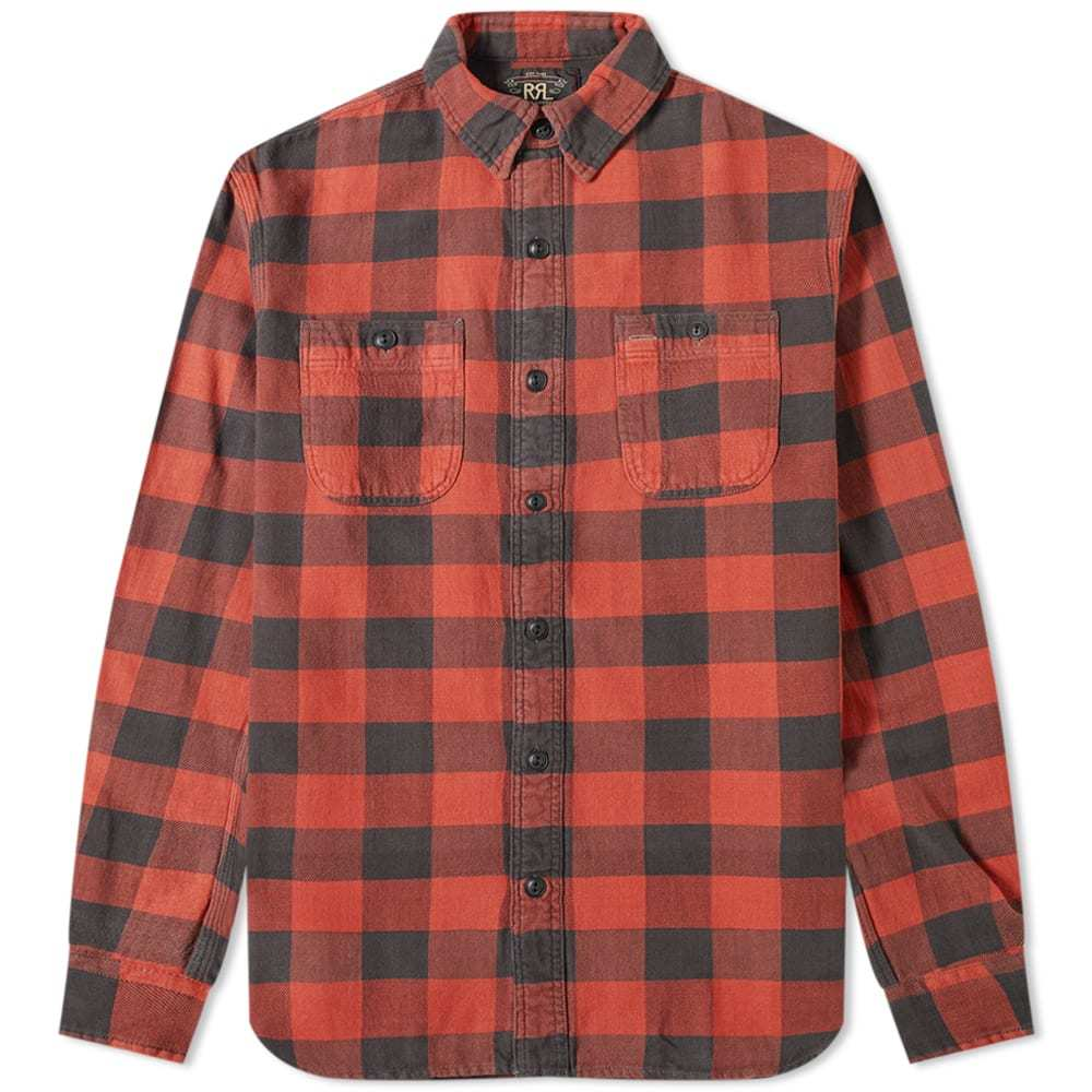 Photo: RRL Buffalo Check Pocket Shirt