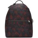 Smythson Red Camo Oxblood Burlington Backpack