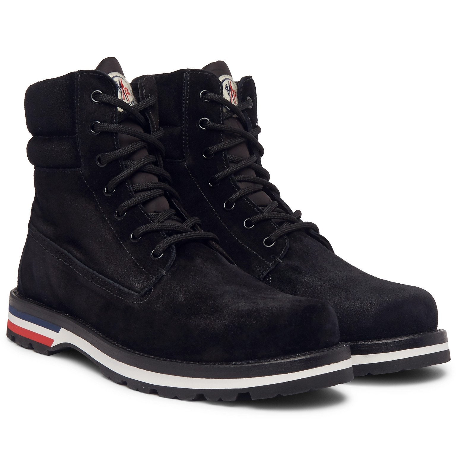 Photo: Moncler - Vancouver Suede Boots - Black
