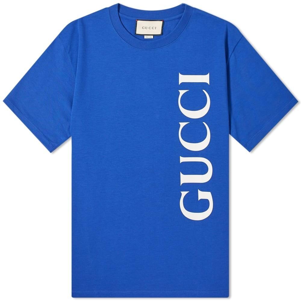 Photo: Gucci Large Gucci Logo Tee