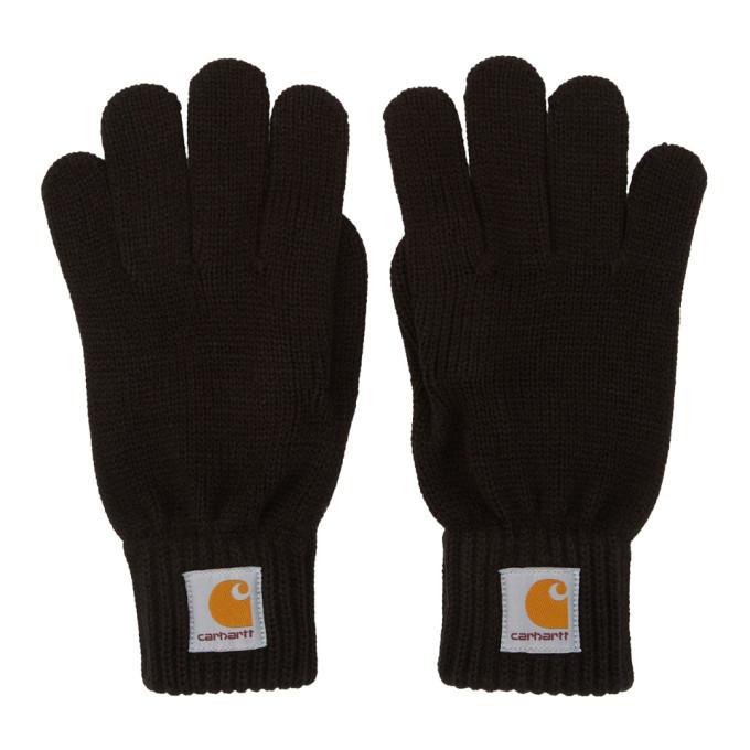 Photo: Carhartt Work In Progress Black Watch Gloves