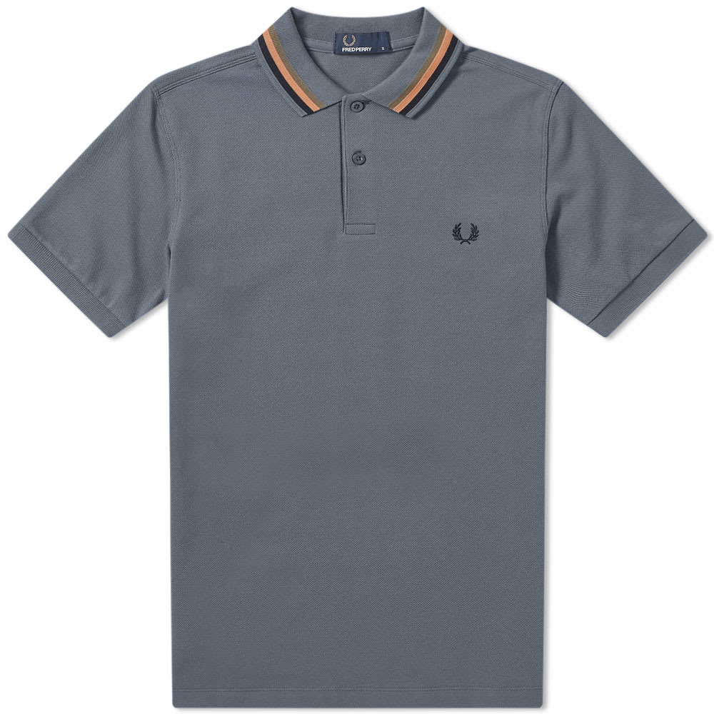 Photo: Fred Perry Bomber Stripe Pique Polo