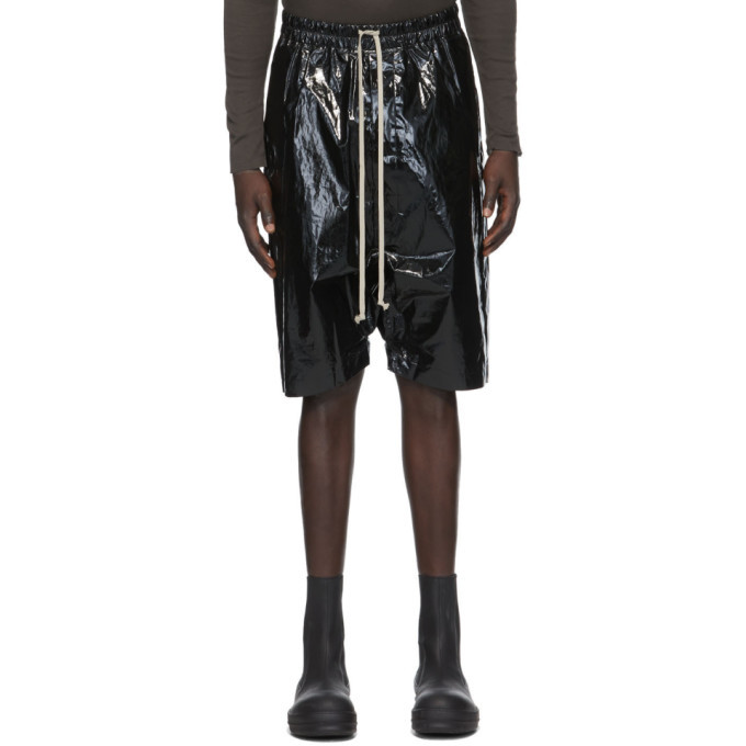 Photo: Rick Owens Black Pods Shorts