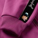 KAPITAL - Embroidered Velvet-Trimmed Tech-Jersey Track Jacket - Purple