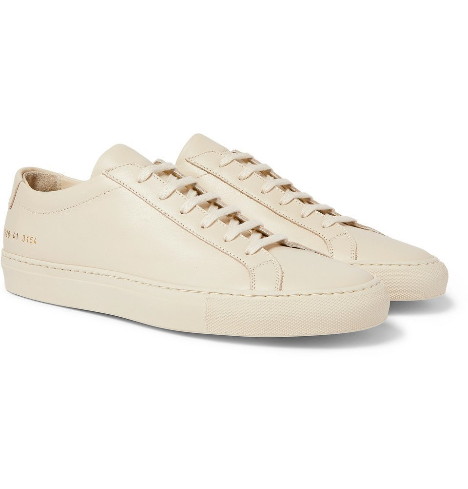 Photo: Common Projects - Original Achilles Leather Sneakers - Cream