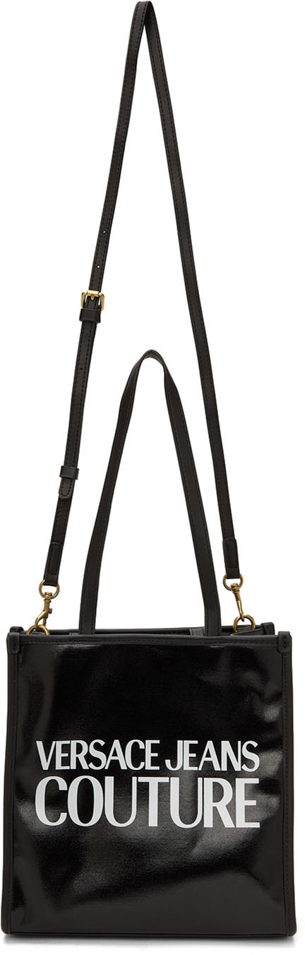 Photo: Versace Jeans Couture Black Range Messenger Bag