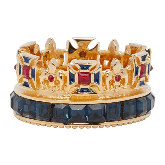 Photo: Dolce and Gabbana Gold Crown Ring