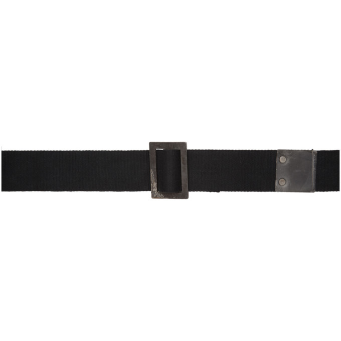 Photo: Boris Bidjan Saberi Black Iron Buckle Belt