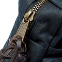 Filson - Leather-Trimmed Waxed Cotton-Canvas Briefcase - Men - Navy