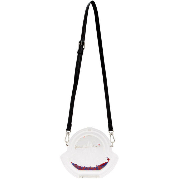 Moncler Transparent Coq Shoulder Bag