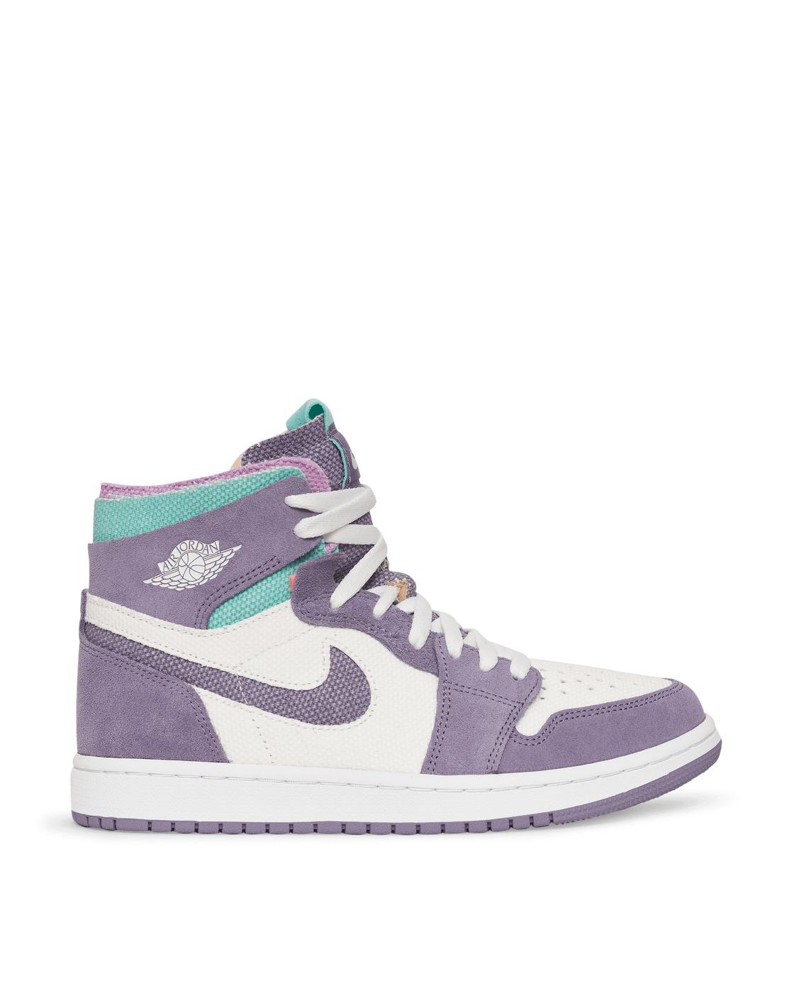 Photo: Nike Jordan Air Jordan 1 High Zoom Cmft Sneakers White/Daybreak