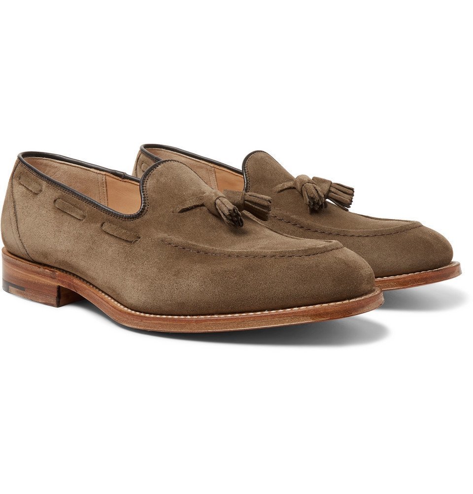Photo: Church's - Kingsley 2 Suede Tasselled Loafers - Light brown
