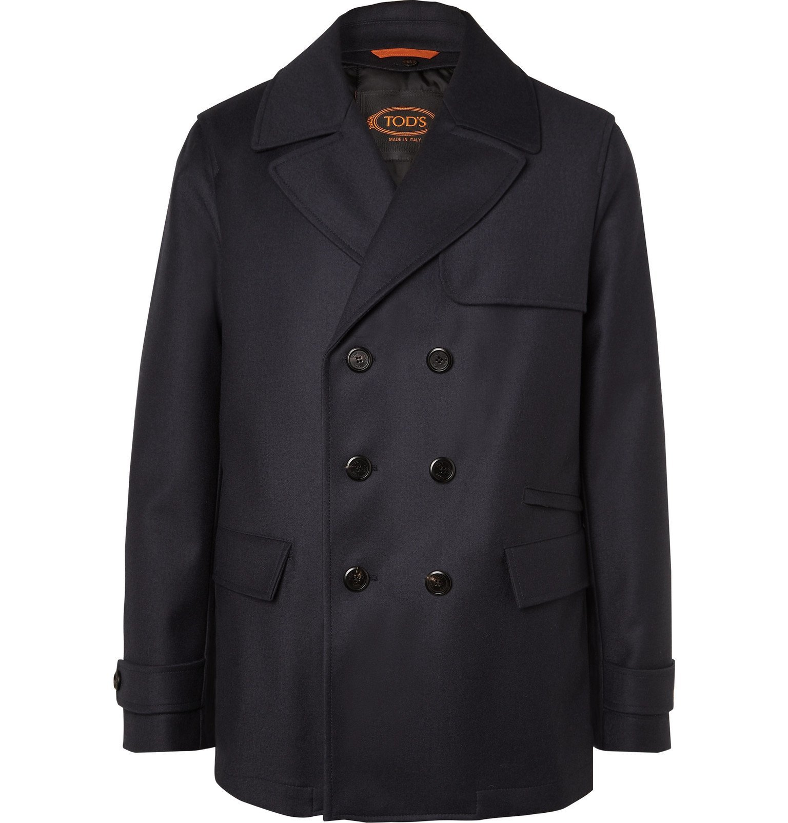 Photo: Tod's - Wool Peacoat - Blue
