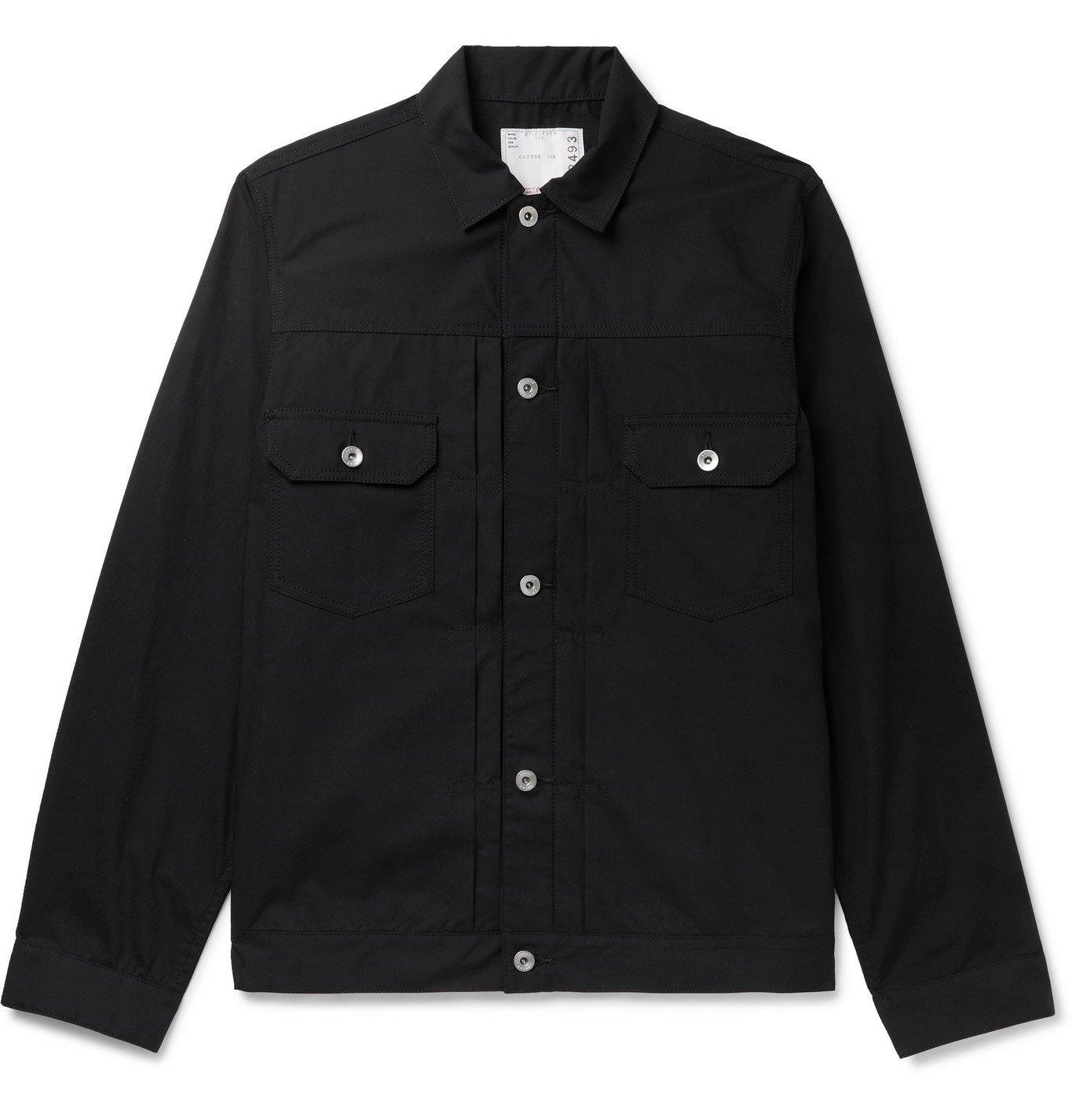 Sacai - Cotton Blouson Jacket - Black
