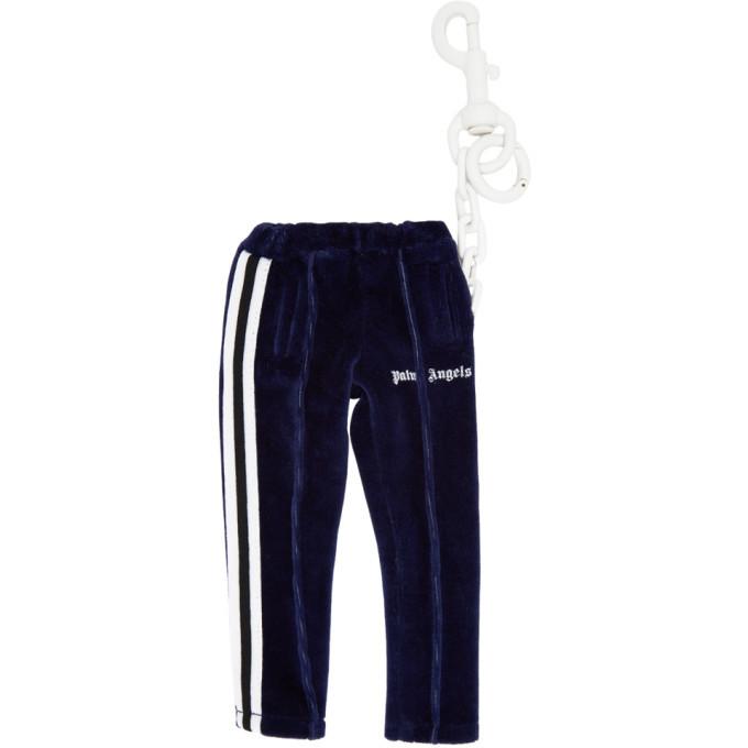Photo: Palm Angels Navy Track Pants Keychain