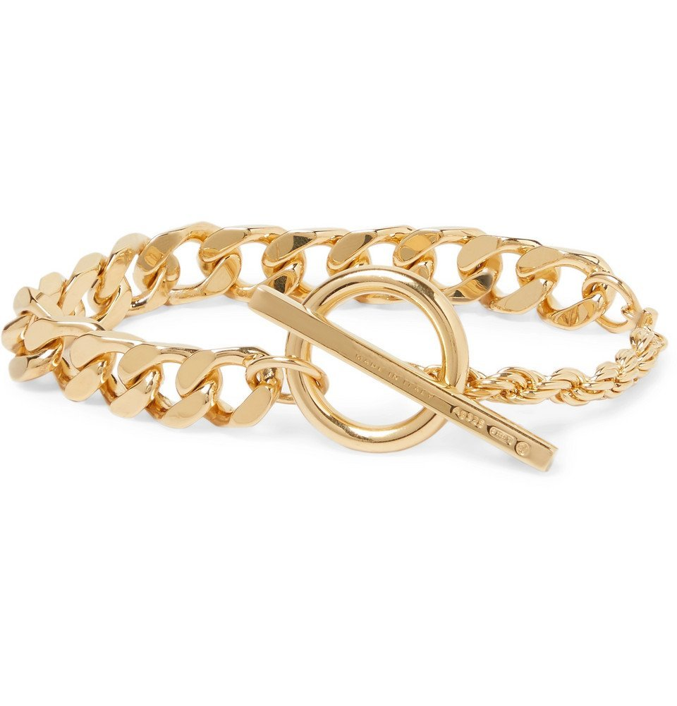 Photo: Bottega Veneta - Gold-Plated Chain Bracelet - Gold