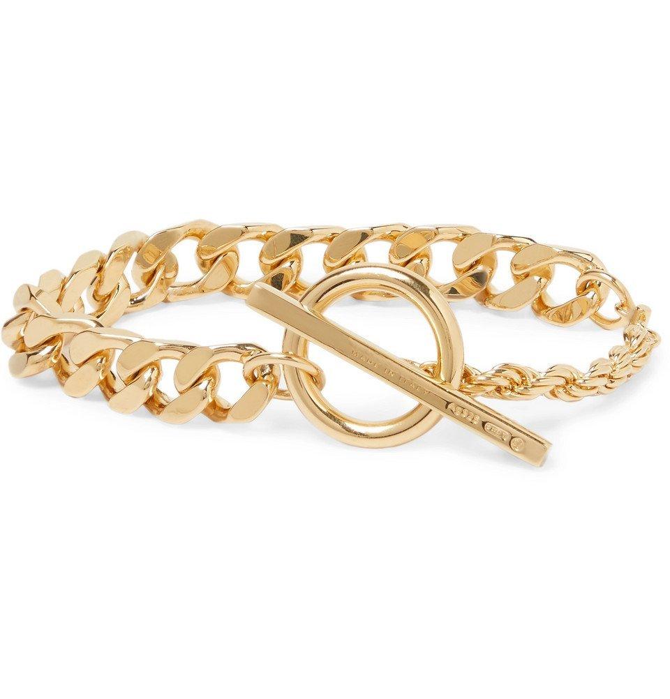 Bottega Veneta - Gold-Plated Chain Bracelet - Gold