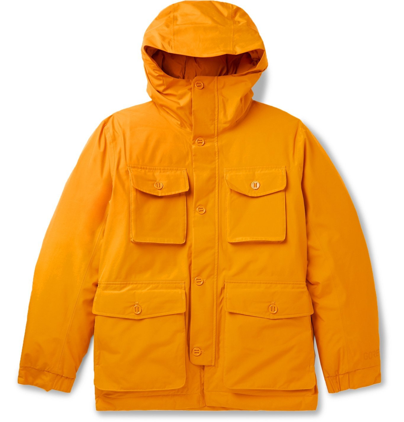 Photo: NN07 - Goff GORE-TEX Shell Hooded Down Jacket - Orange
