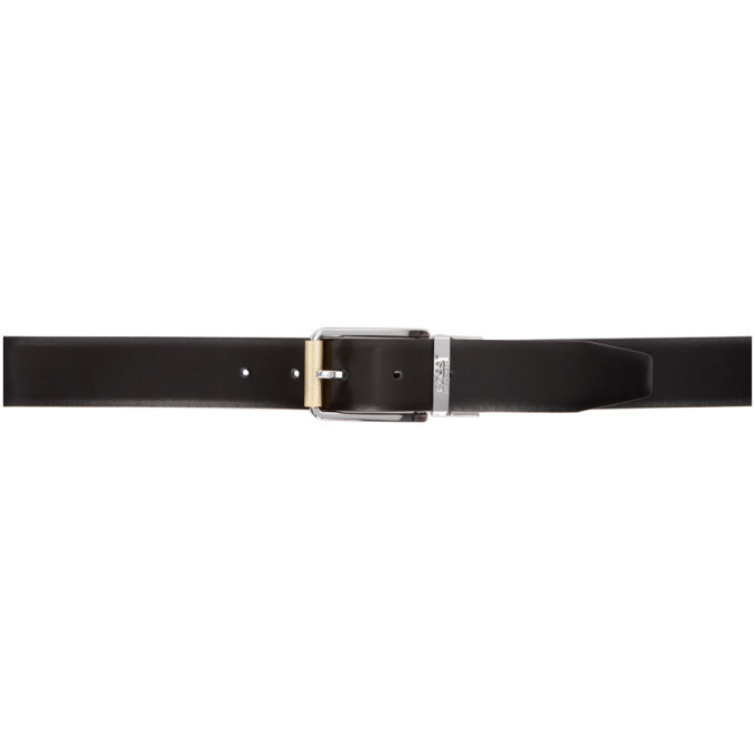 Photo: Boss Reversible Black and Burgundy Ocalir Belt