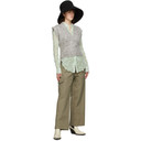Nina Ricci Beige Twill Cargo Trousers