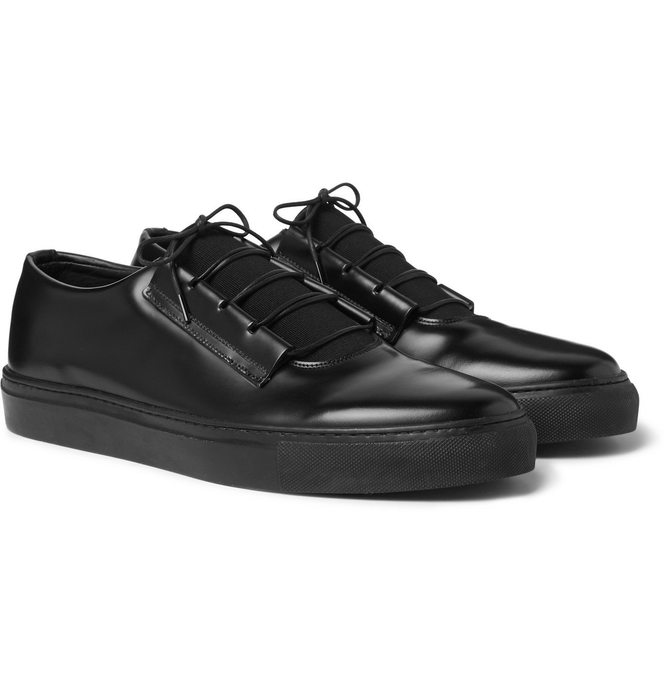 Photo: Grenson - Craig Green Leather Sneakers - Black
