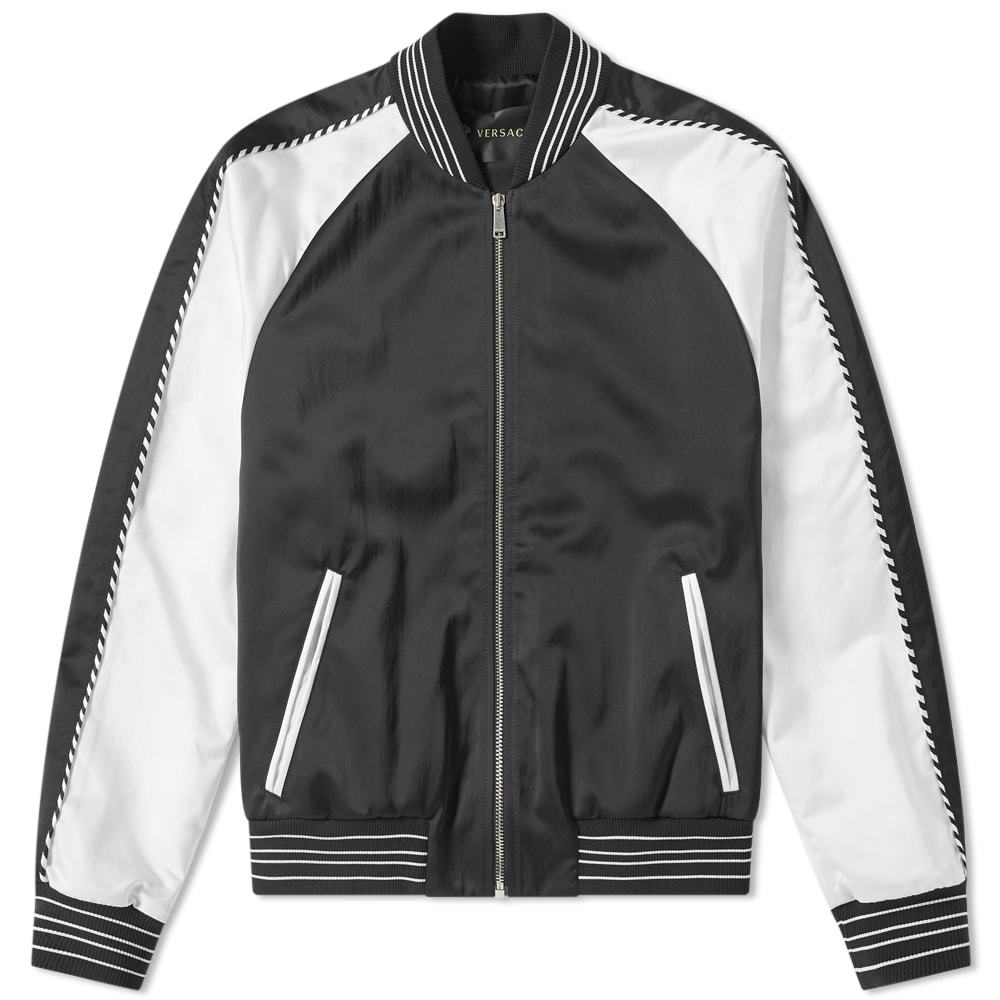 Photo: Versace Speed Racer Logo Souvenir Jacket