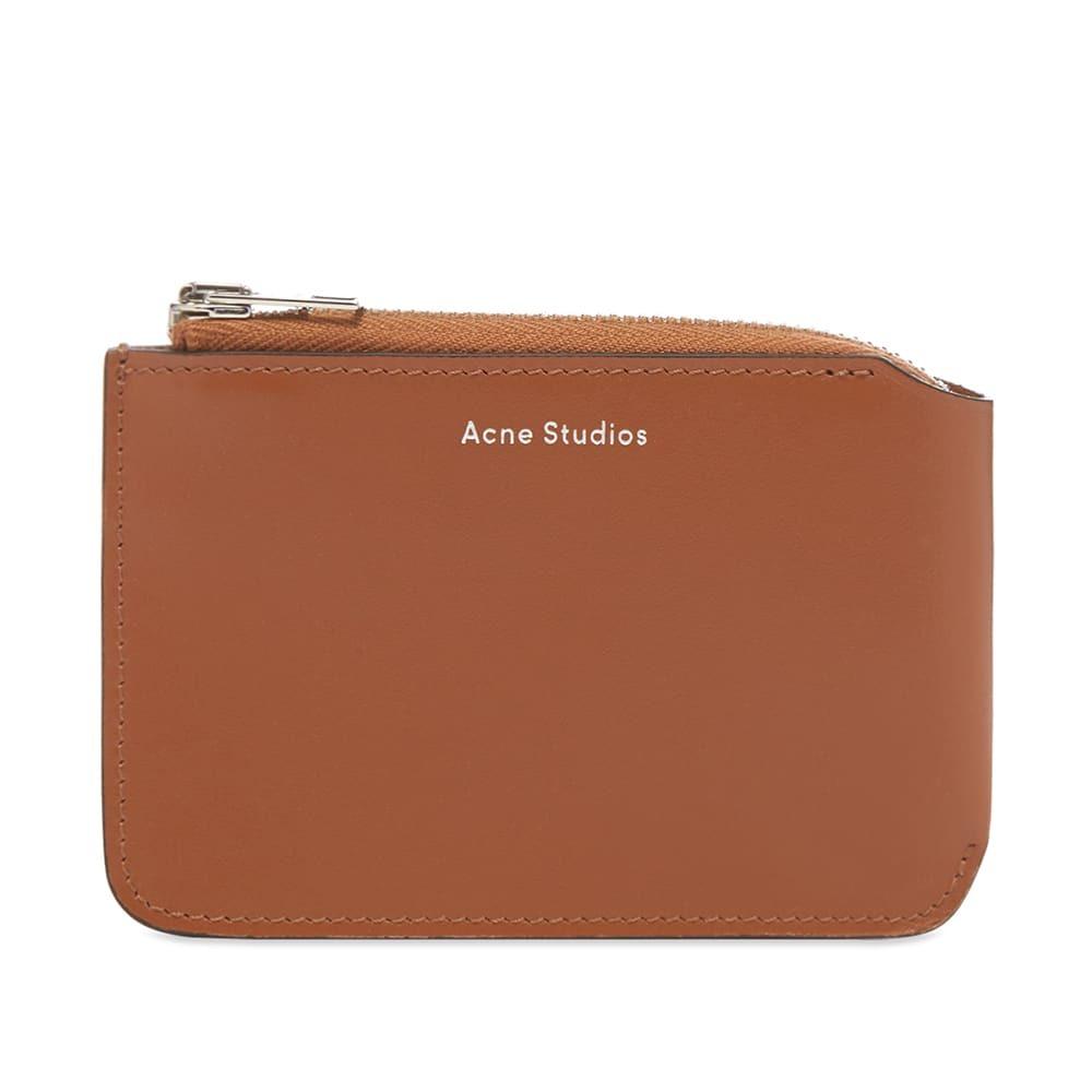 Acne Studios Garnet Zip Wallet