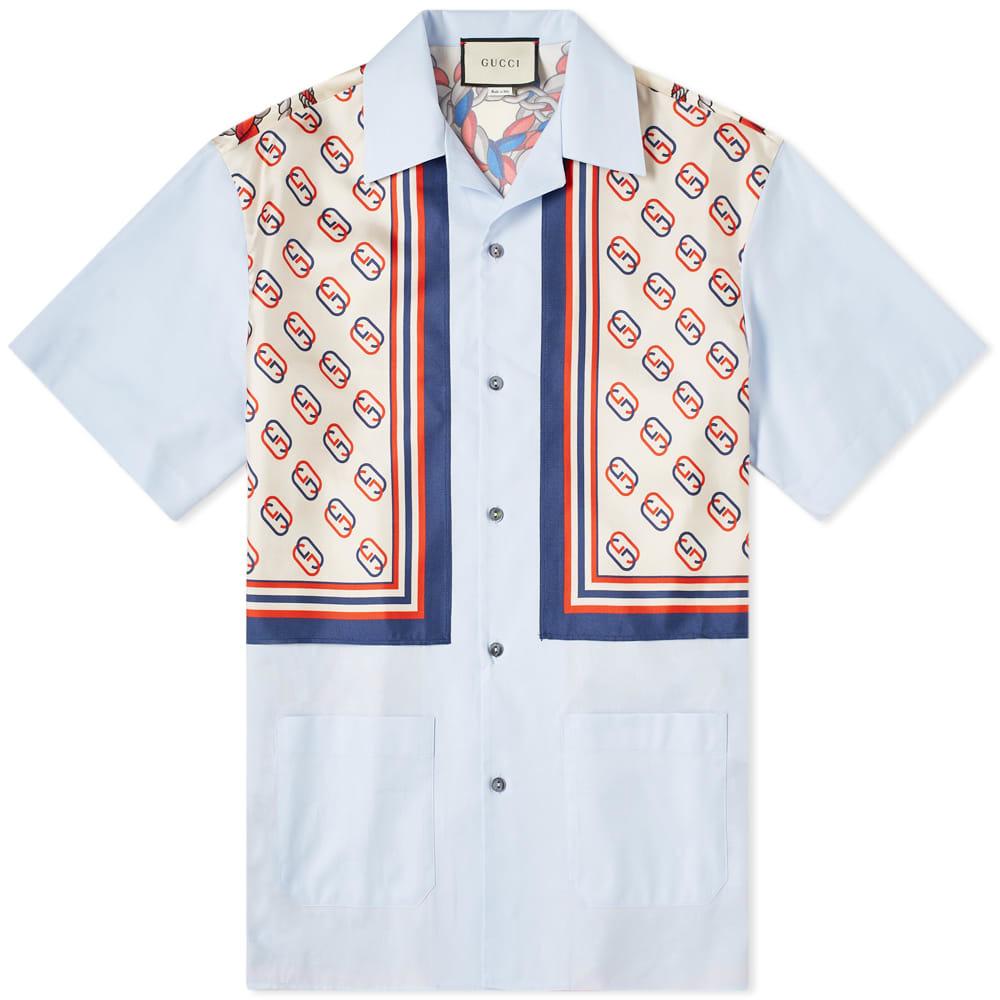 Photo: Gucci Patch Pocket Bowling Shirt