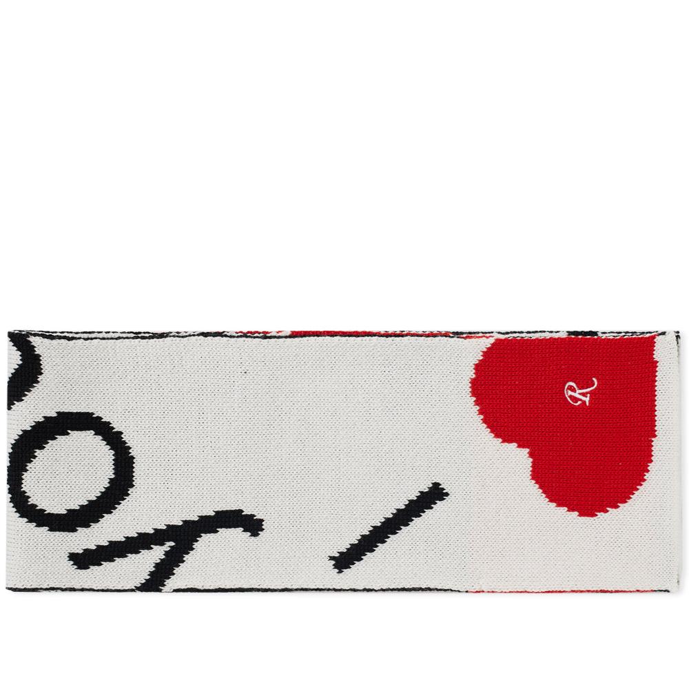 Raf Simons 'I Love You' Scarf